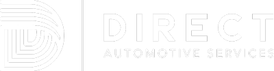 Direct Automotive Services logo png white