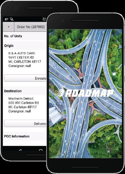 Direct Automotive Services RoadRunner RoadMap App