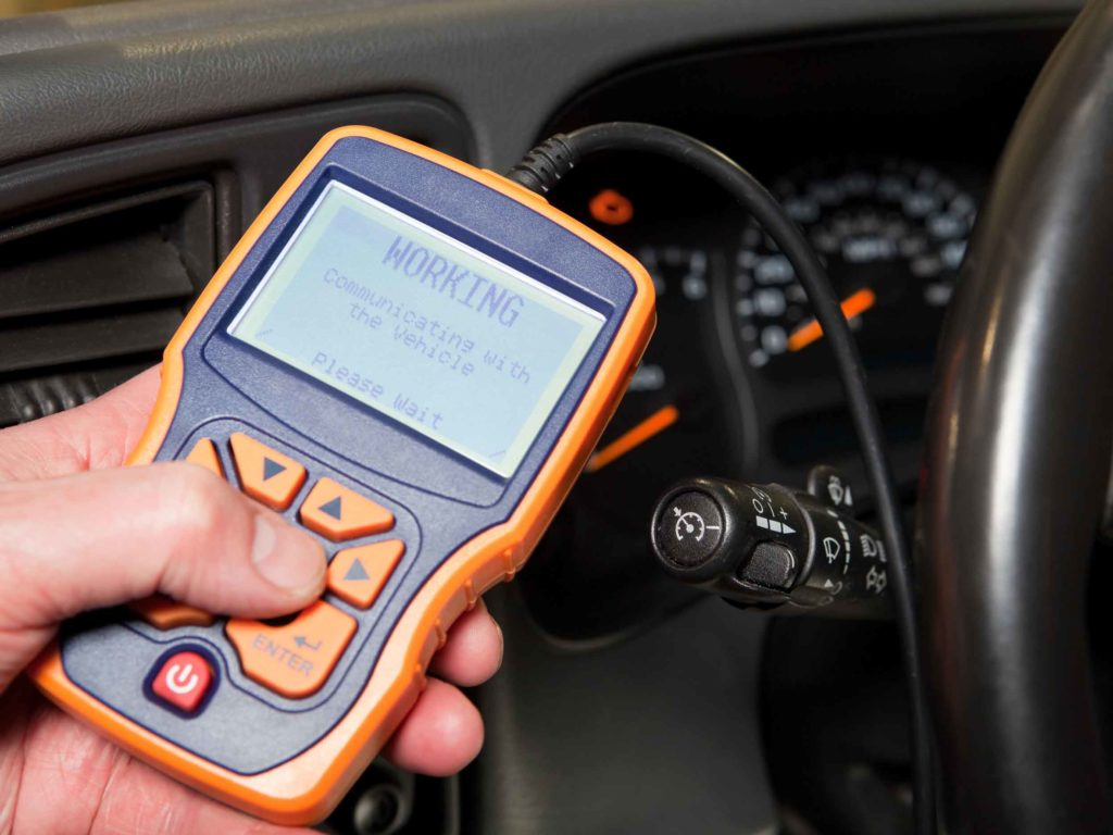 Vehicle Inspection Service OBD scanner